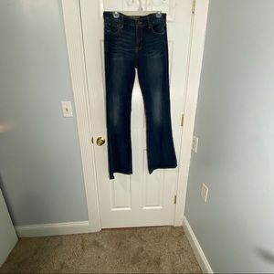 Lucky Brand Olivia Flare Jeans Size 8